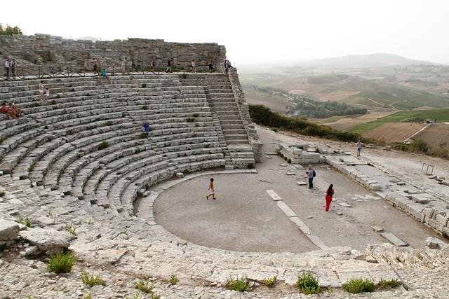 Teatro di Segesta, IV sec. a.C.