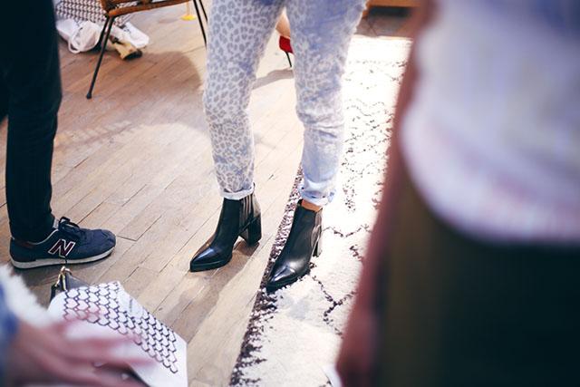 Sarenza Paris Shoe Launch