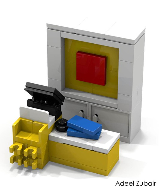 LEGO Modular Building - LEGO Brand Store - Counter (Alternative)