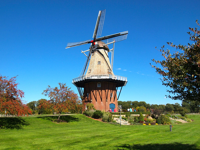 Windmill Gardens in Holland, Michigan
