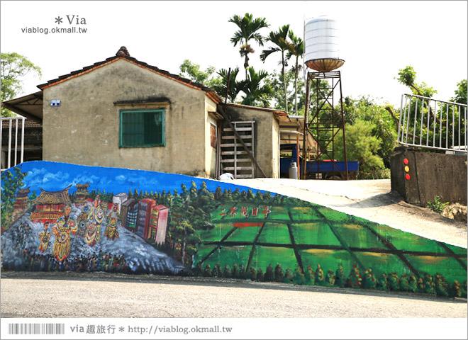 【關廟彩繪村】新光里彩繪村~在北寮老街裡散步‧遇見全台最藝術風味的彩繪村9