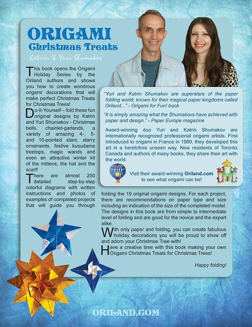 Origami Christmas Treats Book!
