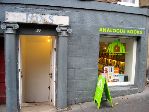 Analogue Books, Edinburgh