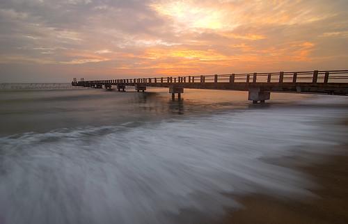 Wave and Jetty | Awana Kijal Terengganu, Malaysia