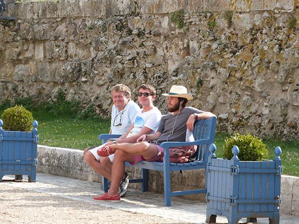 trois gars à sully