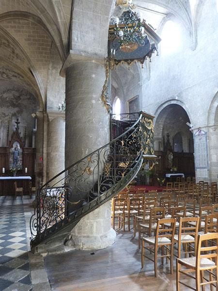 chaire église saint benoît