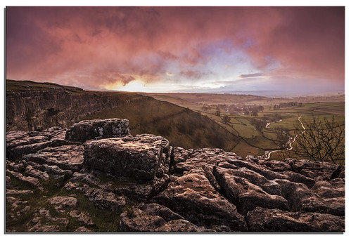 clouds sunrise yorkshire ngc malham 2014 malhamcove d600 nikkor1635mmf4 nikonfxshowcase