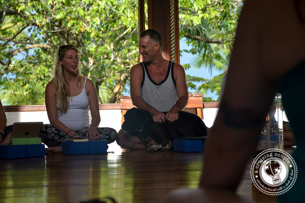 Blue Osa Yoga Teacher Teacher Training Yogi Aaron