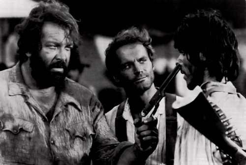 Bud Spencer and Terence Hill in Trinity is still my name (1971)