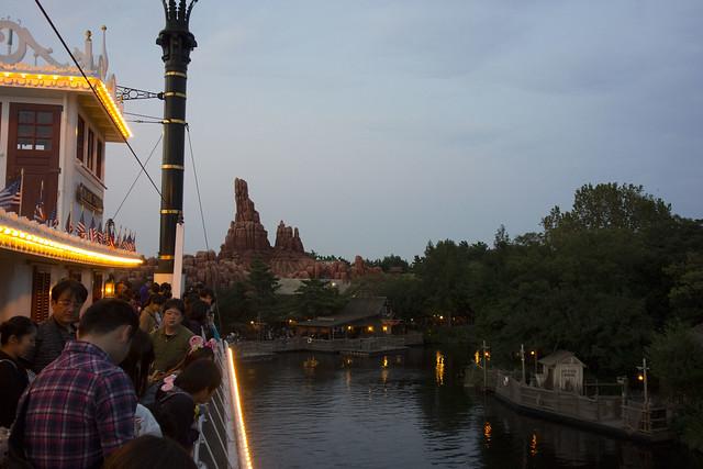 Tokyo Disneyland - On the Mark Twain