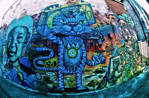 Graffiti Alley - Sept 7, 2014