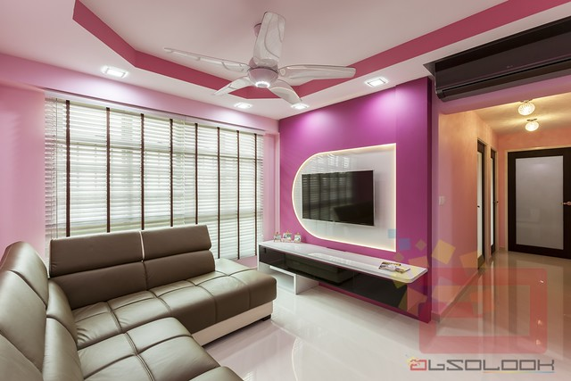 HDB 4-Room BTO Barbie Theme @ Punggol ParcVista - Interior Design ...