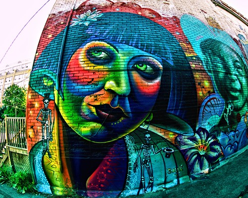 Graffiti Alley - Sept 7, 2014