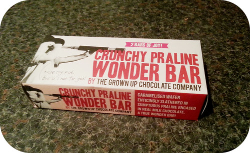 The Grown Up Chocolate Company Praline Wonder Bar