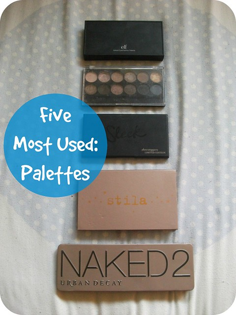 Five Most Used Palettes