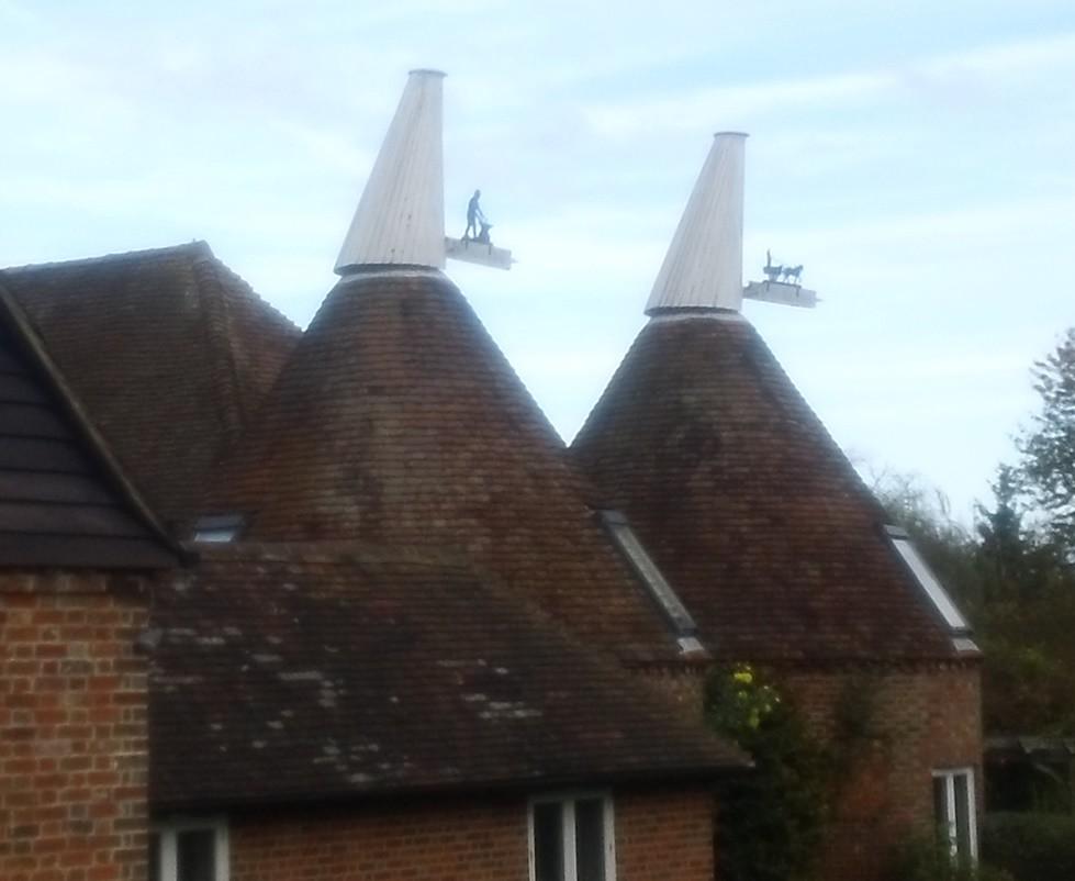 Double Oast house Kent