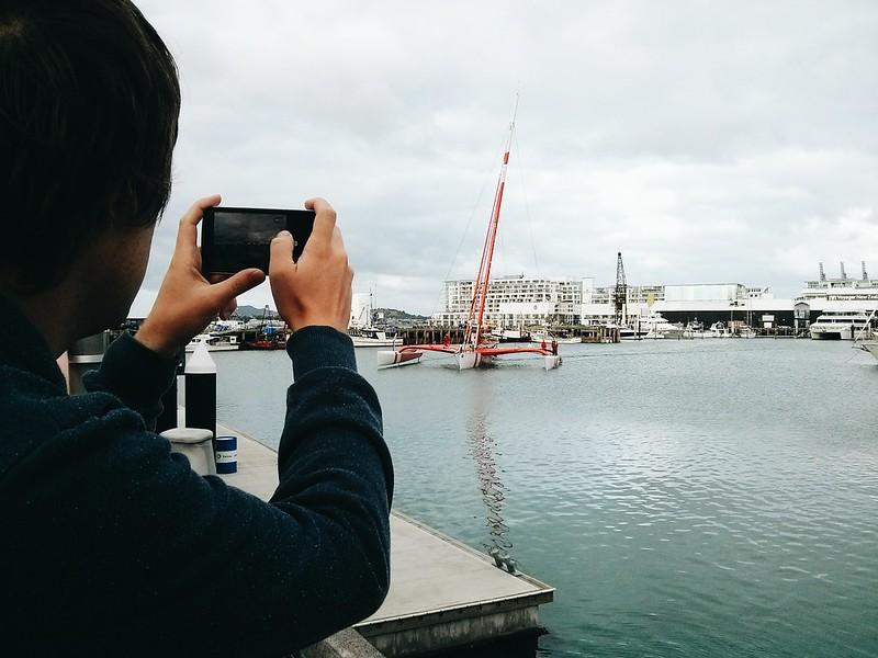 Day one in New Zealand, Auckland.