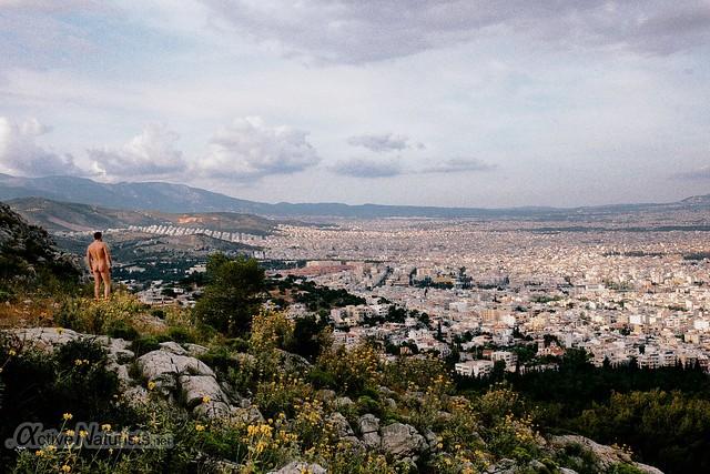 naturist 0004 Oros Egaleo hills, Athens, Greece
