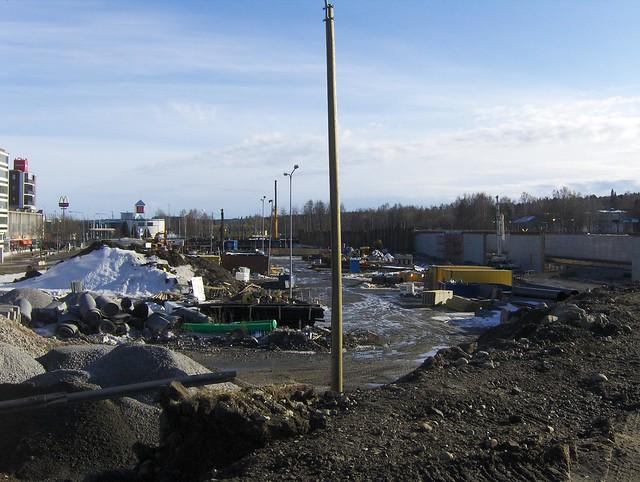 Hämeenlinnan moottoritiekate ja Goodman-kauppakeskus: Työmaatilanne 18.3.2012 - kuva 3