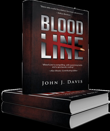 BLOOD LINE Hardcover Stack