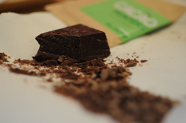 Colombian dark chocolate