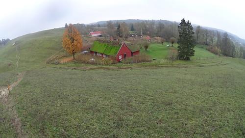 Hus i Drakamöllans naturreservat