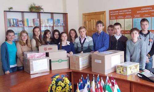 """Акція """"Зігрій солдата"""" (30.10.2014)"""