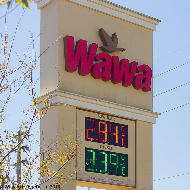 the falling gas prices of 2014