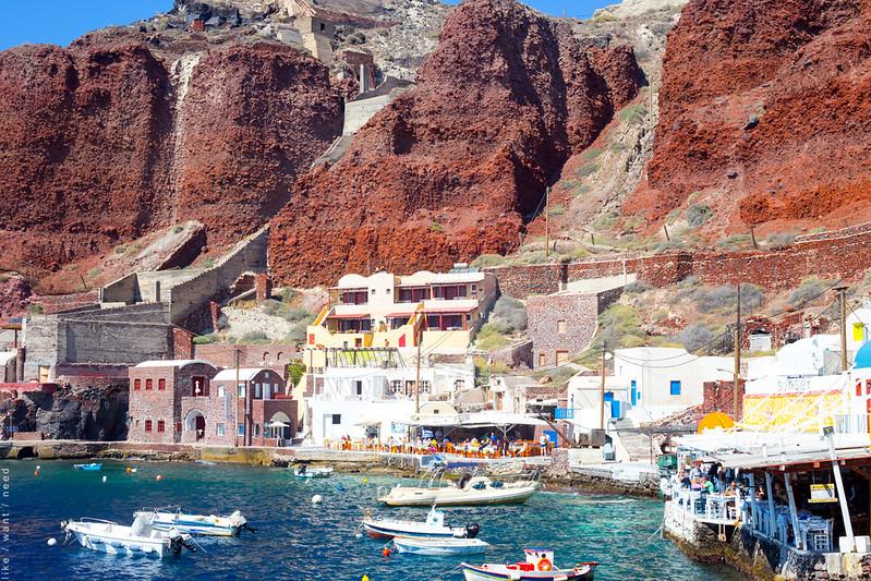 Ammoudi Bay, Oia