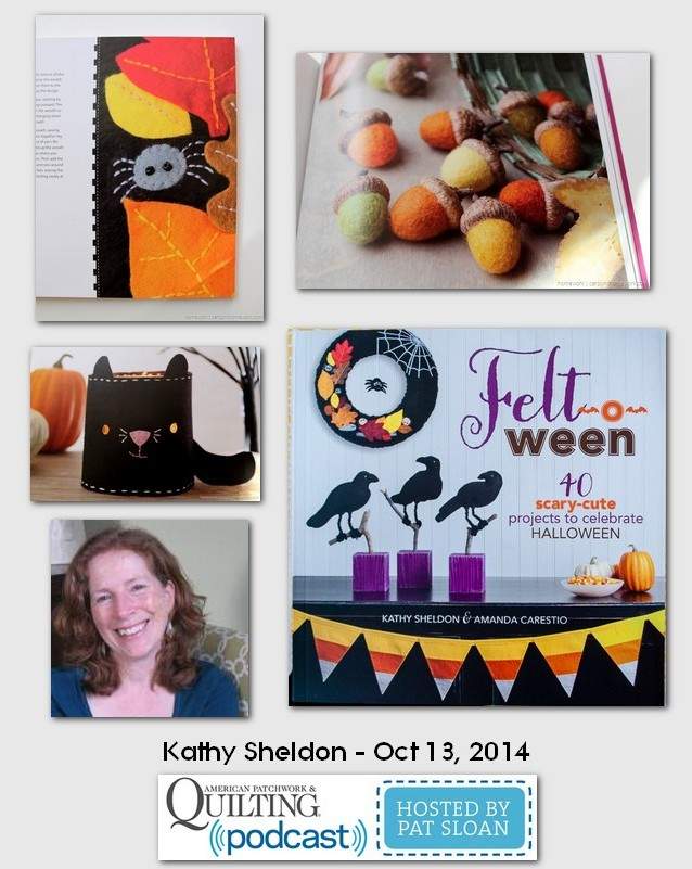 American Patchwork and Quilting Pocast Kathy Sheldon Oct 2014