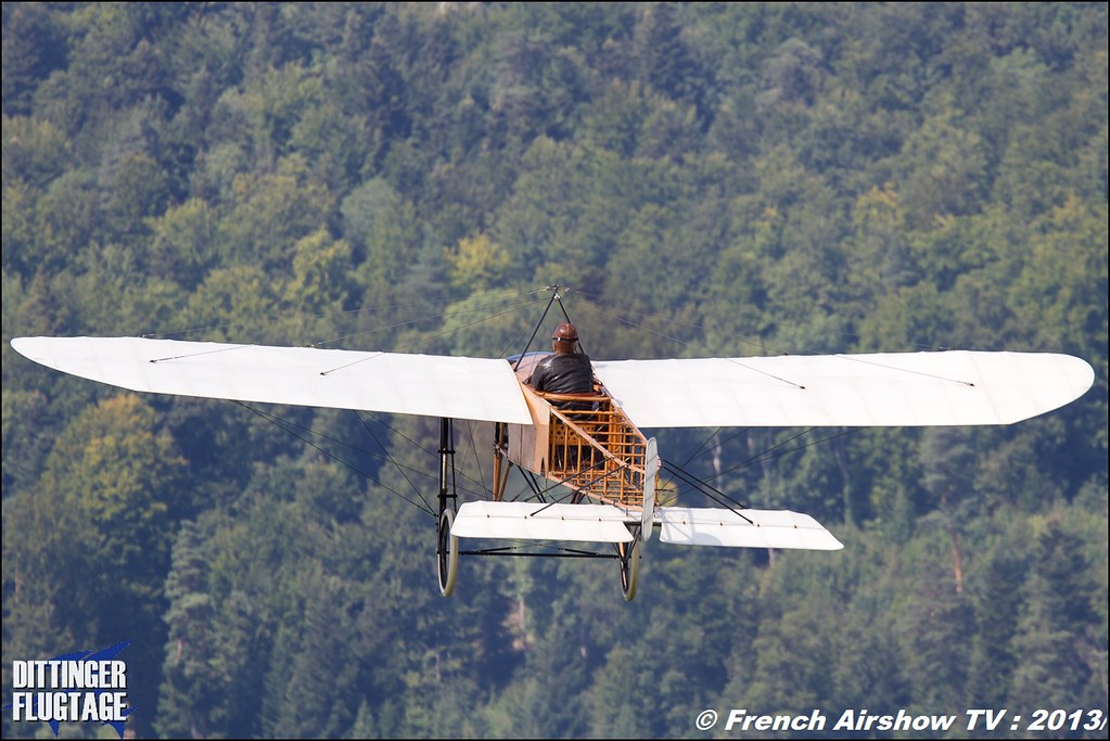 Bleriot XI at Dittinger Flugtage 2013