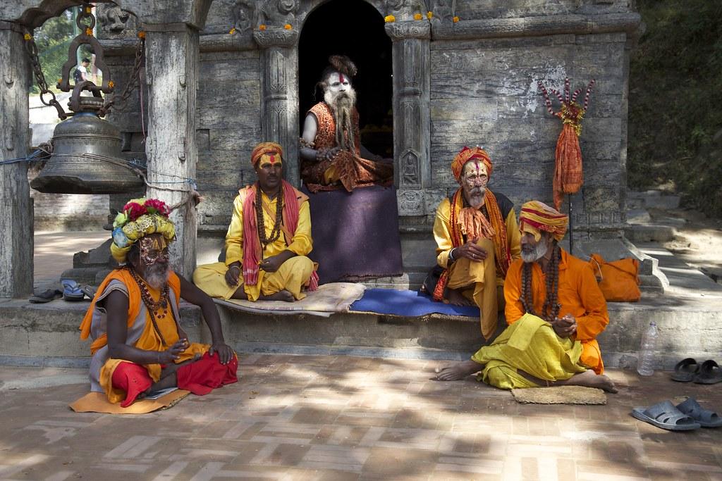 Sadhu en Nepal