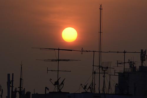 brazil sun brasil sunrise landscape nikon sãopaulo redsky nikkor antenas d7100 55300mm