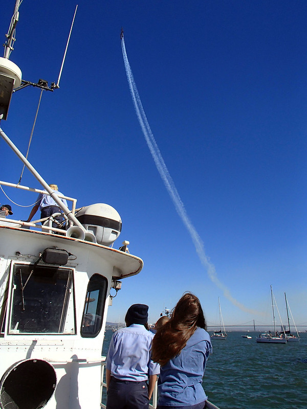 Blue Angels in the Bay