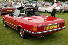 executive car(0.0), performance car(0.0), mercedes-benz 450sel 6.9(0.0), sports car(0.0), automobile(1.0), automotive exterior(1.0), vehicle(1.0), mercedes-benz r107 and c107(1.0), mercedes-benz(1.0), compact car(1.0), antique car(1.0), sedan(1.0), classic car(1.0), vintage car(1.0), land vehicle(1.0), luxury vehicle(1.0), convertible(1.0),