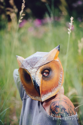 DIY Owl Mask - Wintercroft