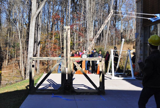 2014 Pumpkin Chunkin at Robinson Nature Center