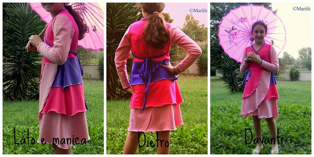 iridis dress collage