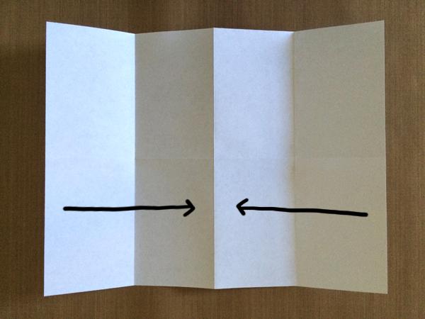 One-Sheet Mini-Zine Step 3