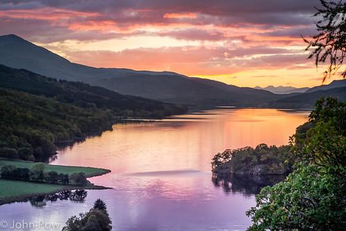 autumn sunset robert scotland view unitedkingdom bruce perthshire victoria queens perth glencoe isabella loch tayside pitlochry tummel schiehallion