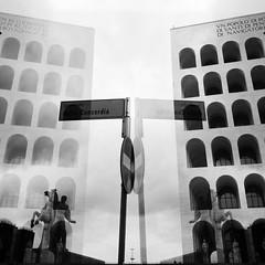 the Palazzo della Civilt� Italiana.