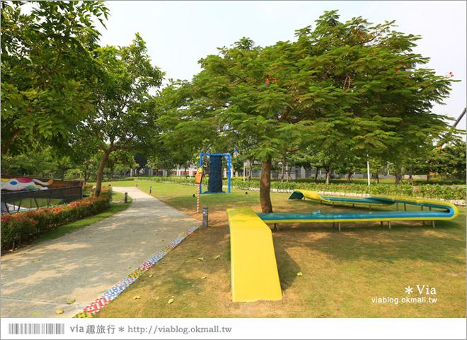 【南科幾米】台南|台積電南科幾米裝置藝術小公園~願望盛開‧許諾之地13