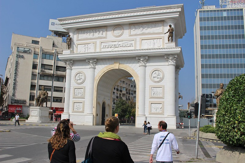 Skopje walking tour