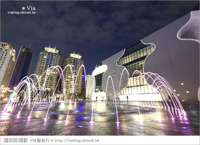 【大都會歌劇院】台中國家歌劇院~夜間水舞篇。光舞紀/光影藝術節17