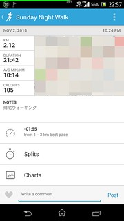 20141102_RunKeeper(Walking)