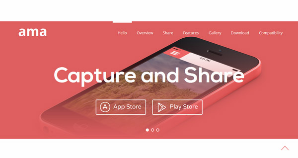 Ama – Free Bootstrap Responsive template