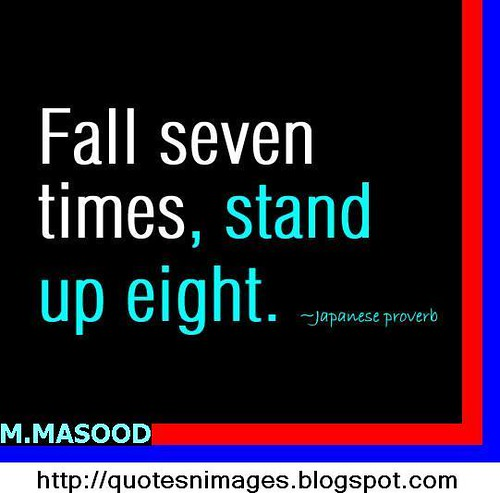 fall seven stand up eight