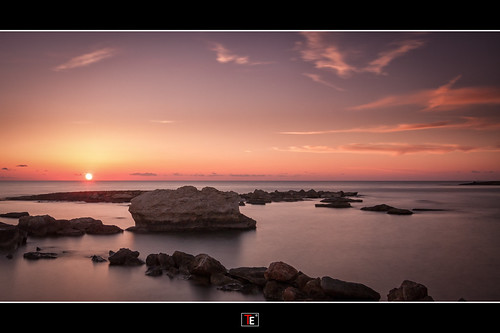 sunset beach golden long exposure cyprus explore atlantica paphos kissonerga 2014 canon450d explore20141021