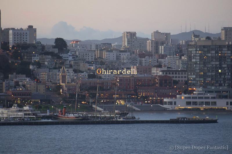 Overnight on Alcatraz