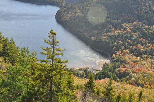 The view from North Bubble, Acadia